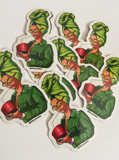Erykah Sticker