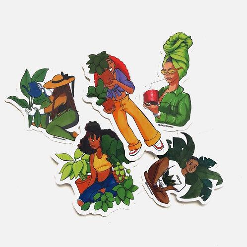 Garden Sticker Pack