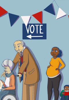 University of Michigan + Voting Support