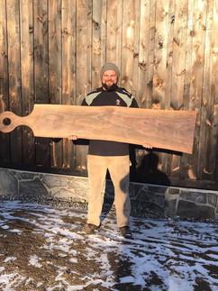 7 ft walnut monster