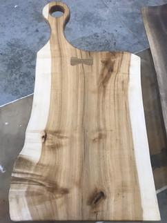 Sugar Maple with Whiter Oak bowtie