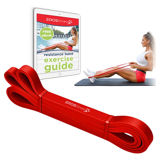 Red (low resistance) - LATEX FREE resistance band