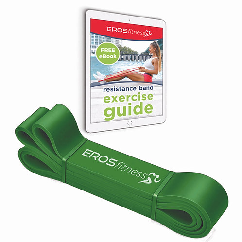 Green (highest resistance) - LATEX FREE resistance band