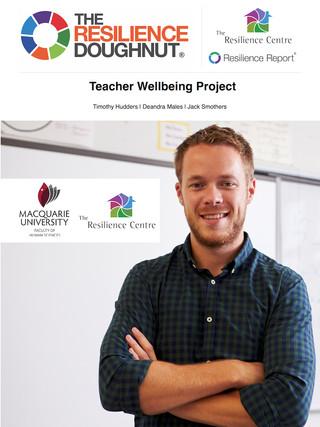 Publication Cover - Teacher Wellbeing Pr