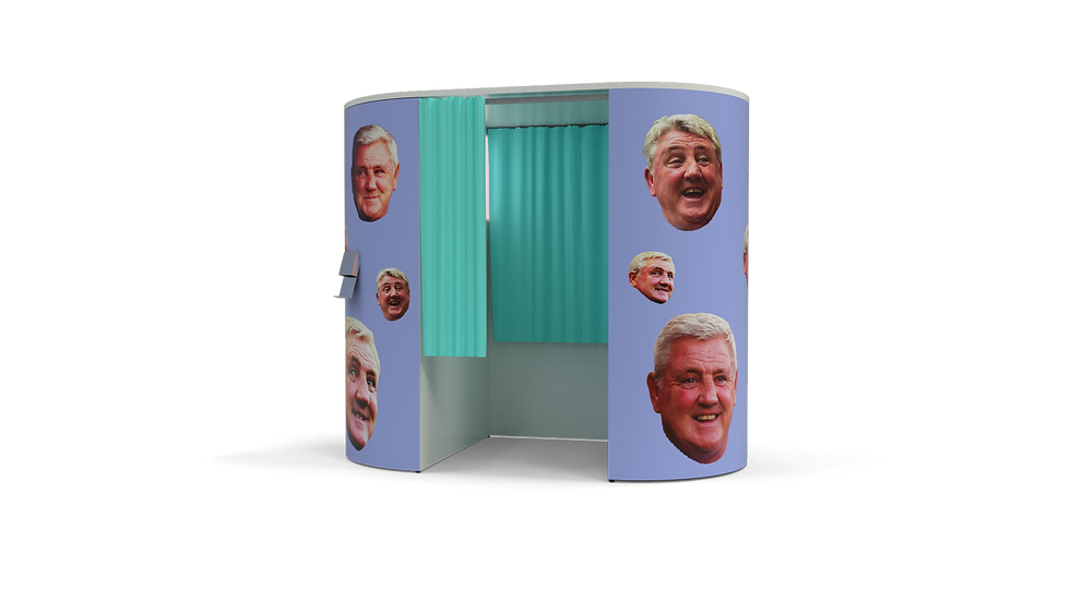 Steve Bruce Photo Booth Experience | Bruce Up Your Wedding