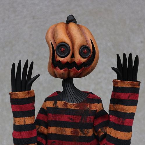 "16"" (M) vampy curvy pumpkin doll"