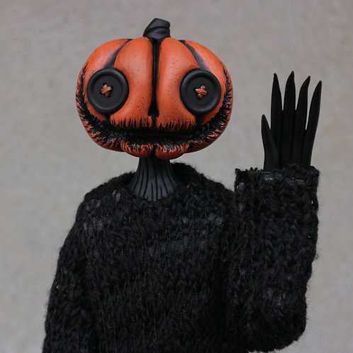 "16"" pumpkin doll"