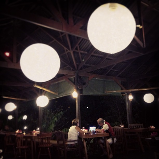 The Nest Restaurant Lantern