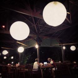 The Nest Restaurant Lantern