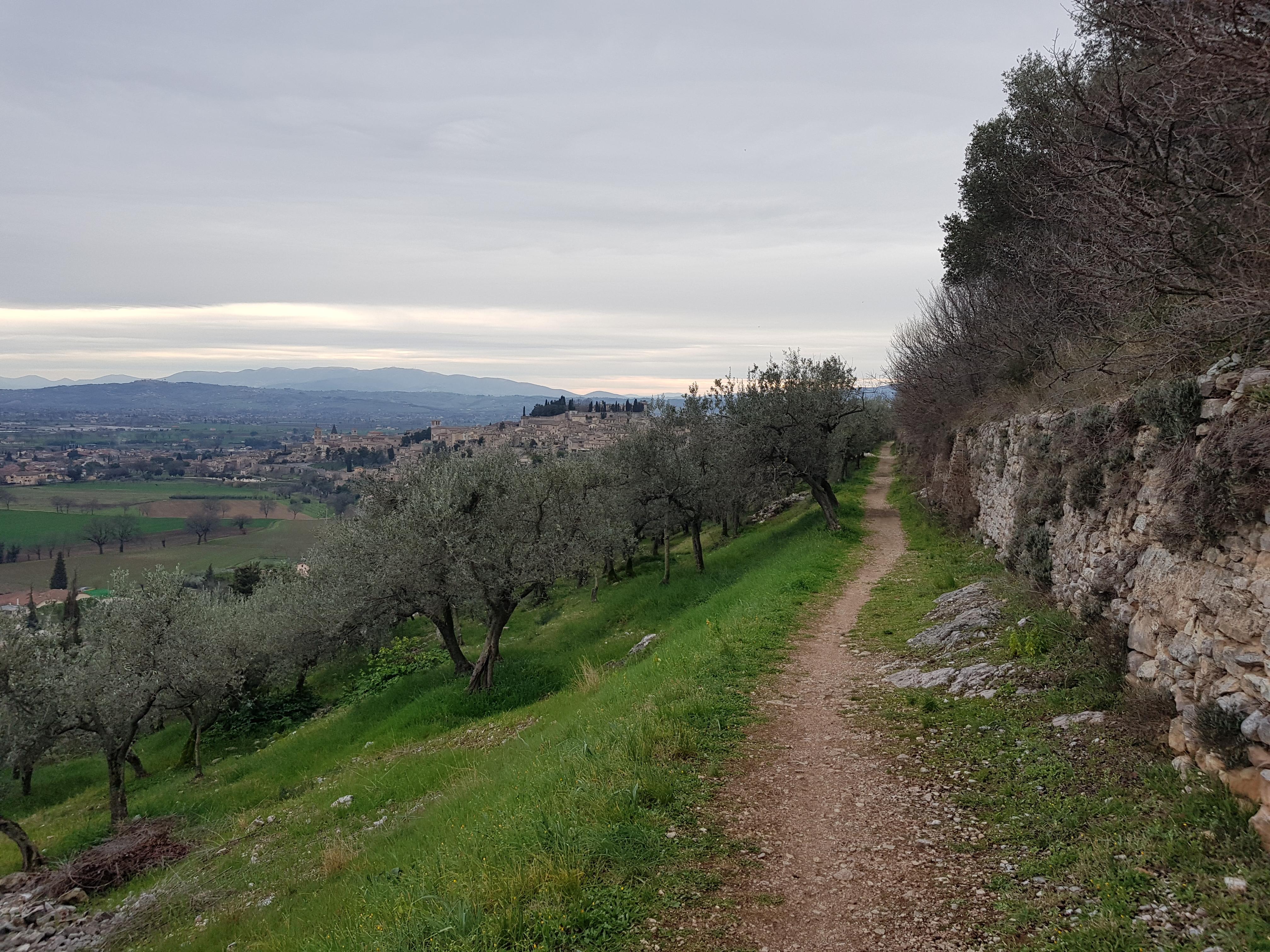 Spello Roman Aqueduct Trail