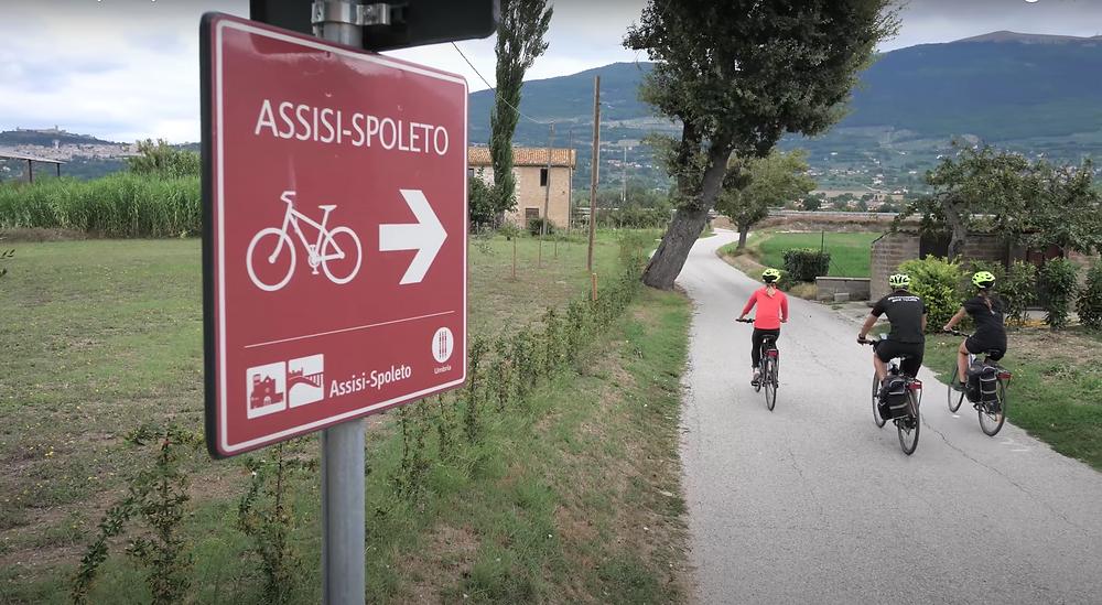 Ciclovia Assisi-Spoleto