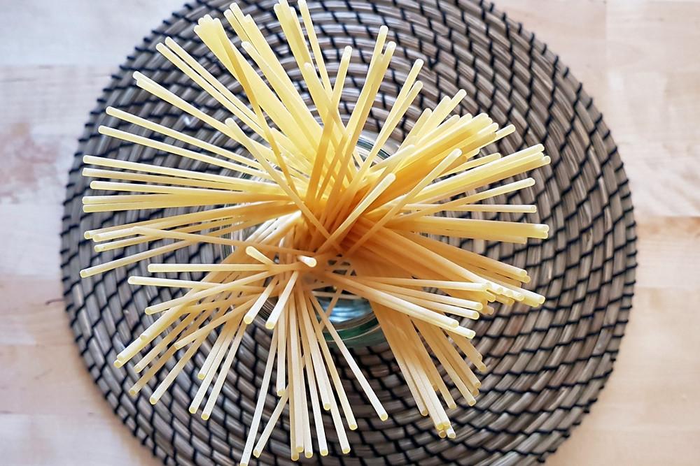 Spaghetti are perfect for Carbonara