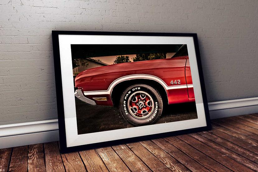 """1972 Oldsmobile 442 - """"Fender"""""""