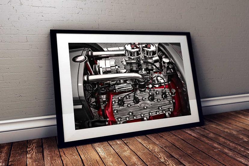 "1929 Ford T Bucket Flathead Engine -""OEM V8"""