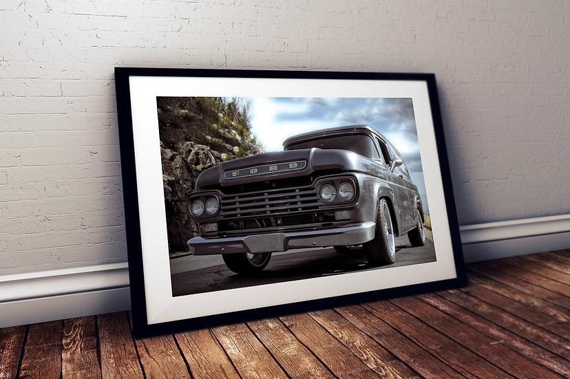 "1959 Ford F100 - ""Built Tough"""
