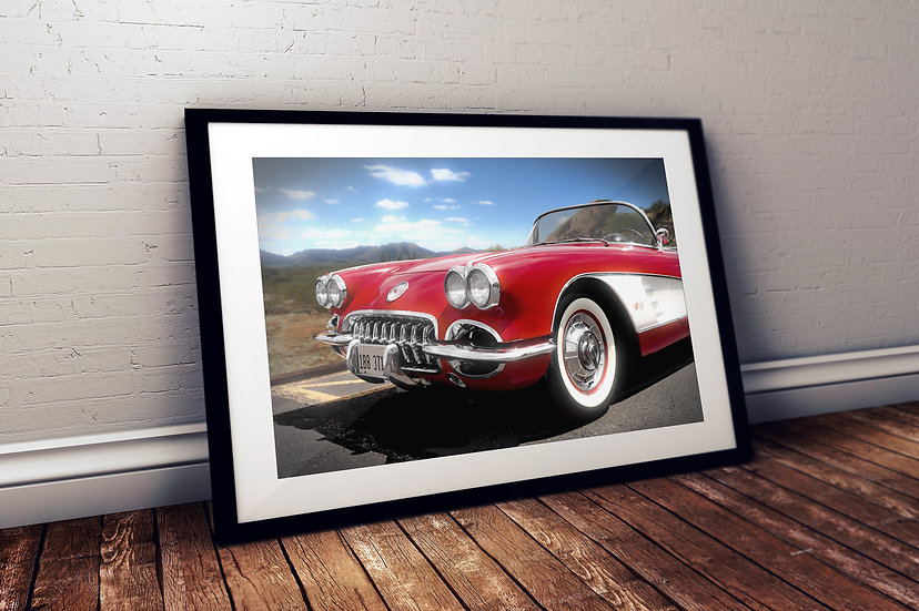 """1959 Chevy Corvette - """"Arizona Queen"""""""