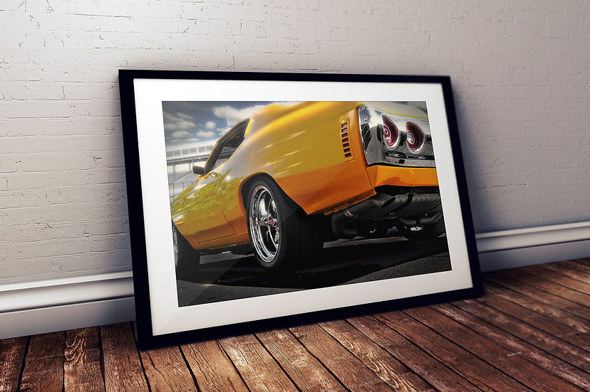 """1973 Chevy Chevelle SS - """"Yellow Staging"""""""
