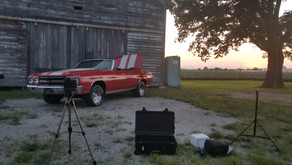 Painting Muscle Cars With Light