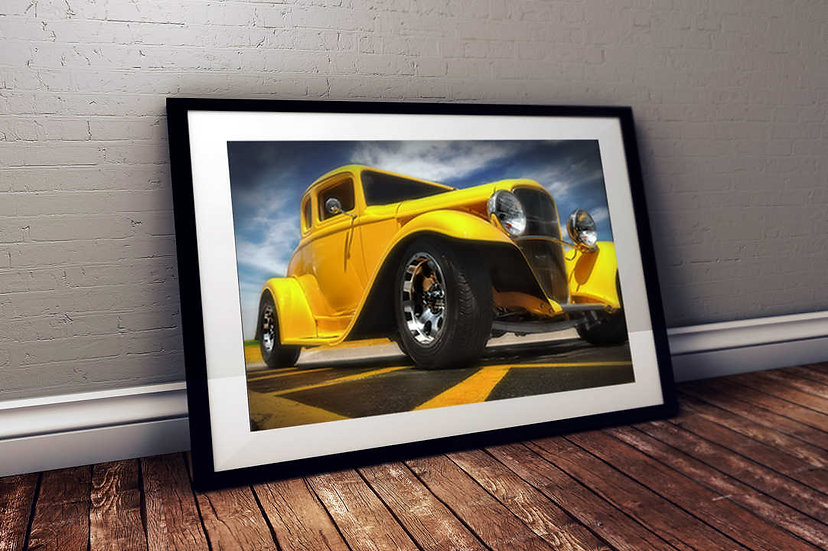 """1932 Ford Hotrod """"Mellow Yellow"""""""