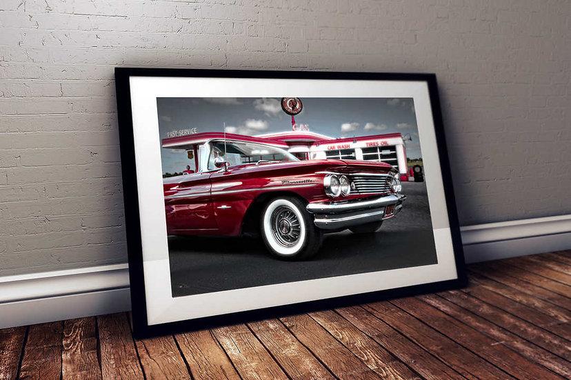 """1960 Pontiac Bonneville -""""Gas & Go"""""""