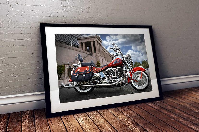 Custom Harley - Chicago Bears Theme