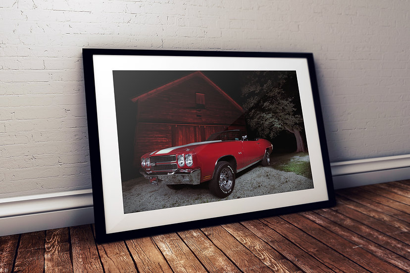 """1970 Chevy Chevelle SS - """"Red Nellie"""""""