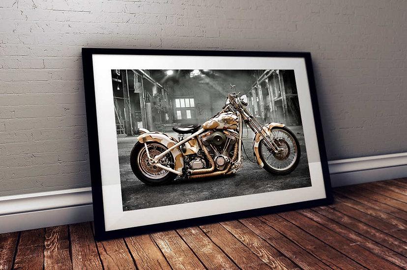Veterans Tribute - Custom Harley Davidson