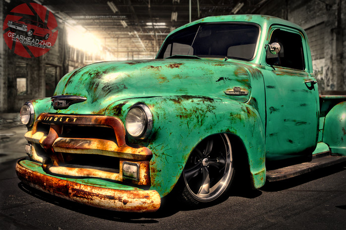 "1950 Chevy 3600 ""The Gabe"" Truck"