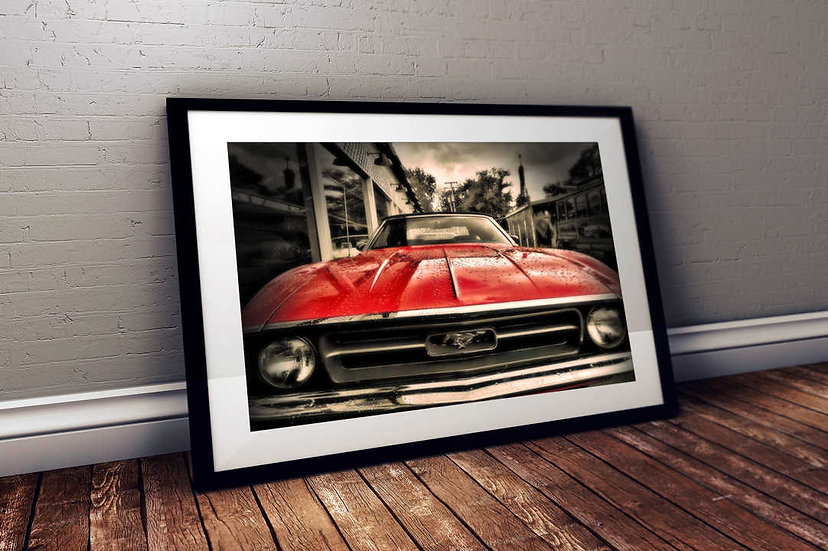 """1971 Ford Mustang - """"Tear Drop"""""""