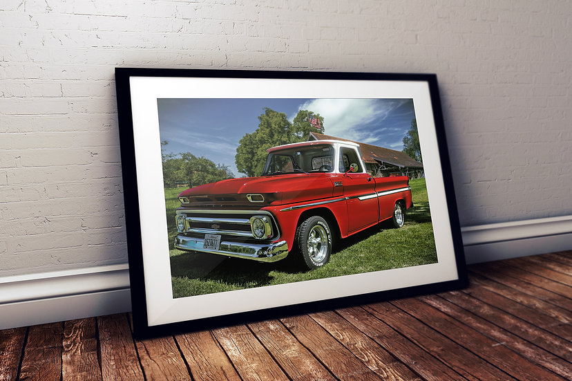 "1965 Chevy C10 Truck - ""Sleeping Red"""