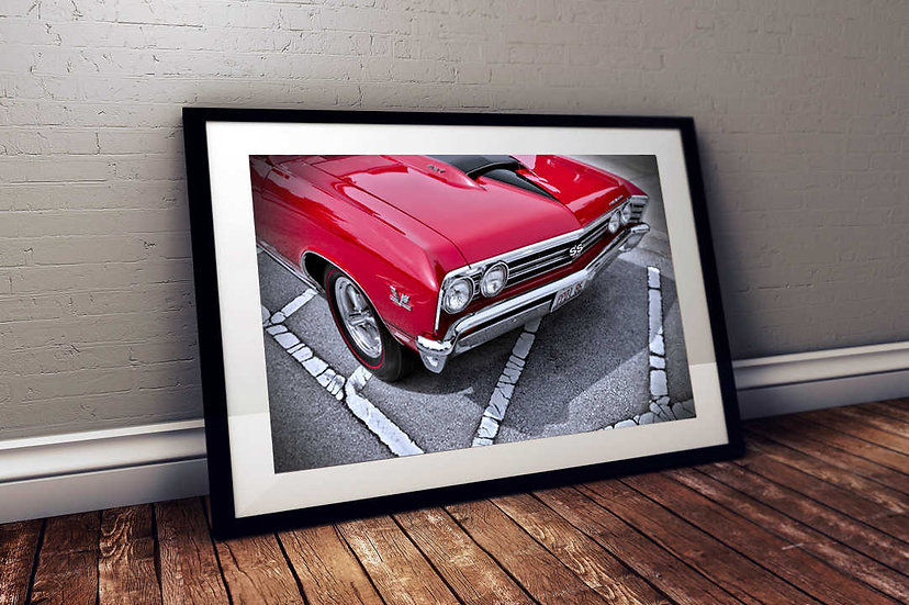 """1967 Chevy Chevelle SS 427 - """"Intimid-nation"""""""