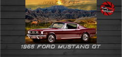 Custom Ford Mustang Artwork
