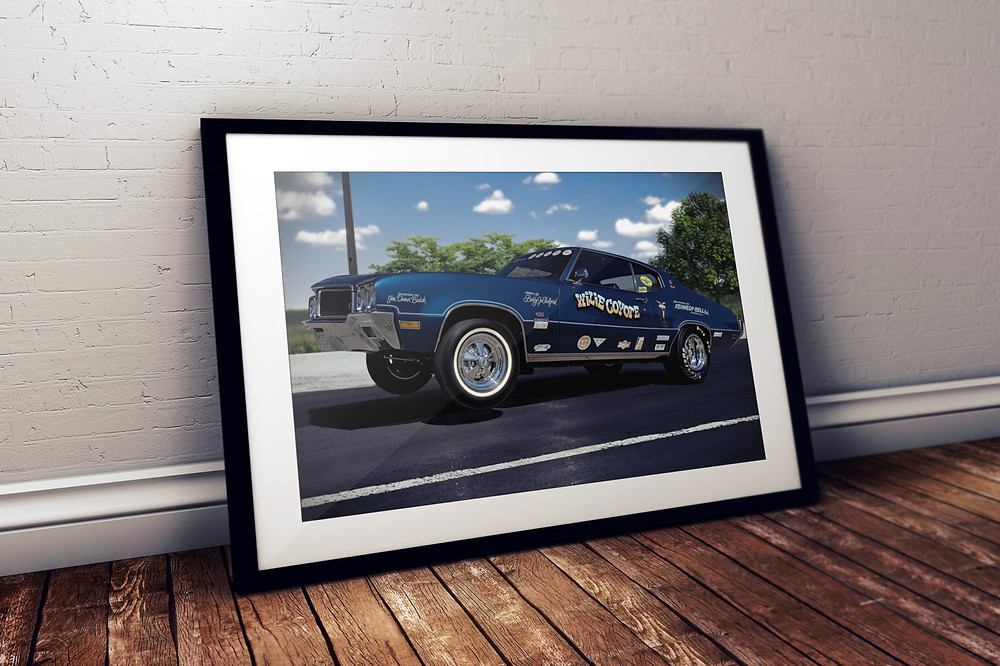 1970 Buick GS Stage II Poster Print