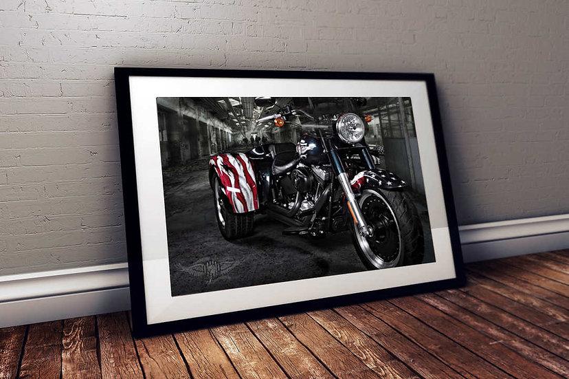 Veterans Tribute - Custom Harley Davidson Trike
