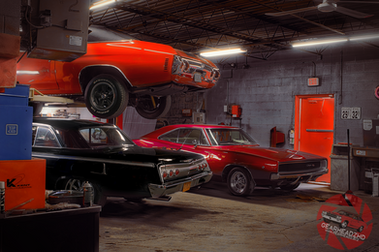 """Muscle Car Garage Mix - """"Cars At The Spa"""""""