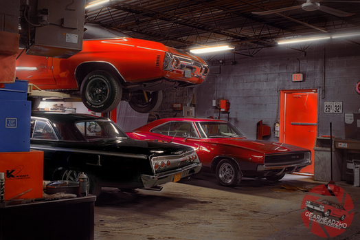"Muscle Car Garage Mix - ""Cars At The Spa"""