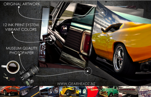 Muscle Car Poster Prints