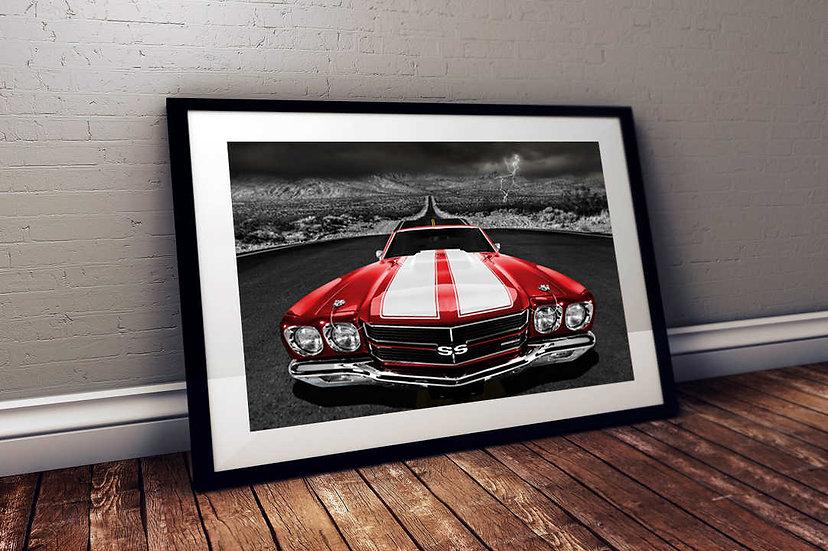 """1970 Chevy Chevelle SS - """"Desert Rose"""""""