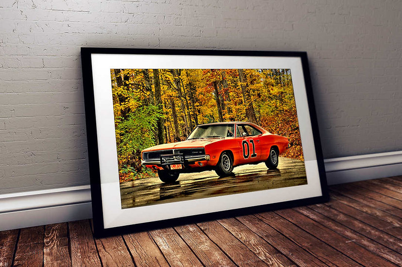 """1969 Dodge Charger - """"General Lee"""""""