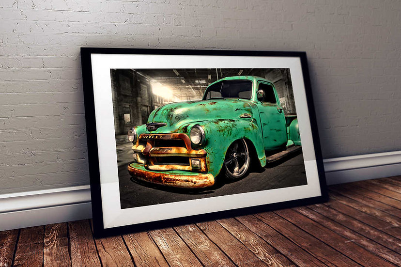 """1950 Chevy 3600 """"The Gabe"""" Truck"""