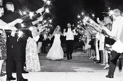 bride-groom-sparklers