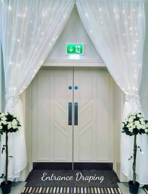 LED Entrance Swag