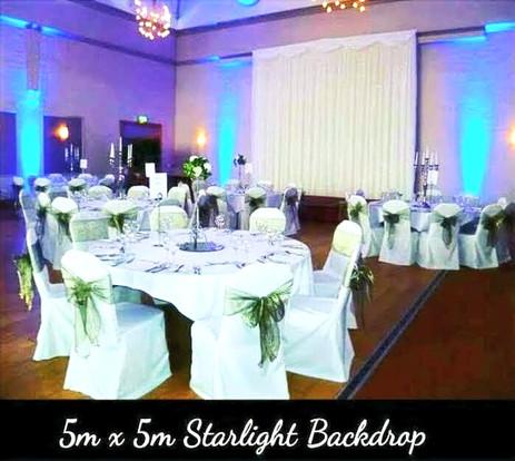 5m x 5m Starlight Backdrop