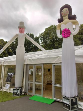 Bride & Groom Air Dancers