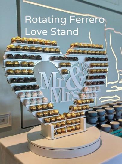 Rotating Ferrero Stand