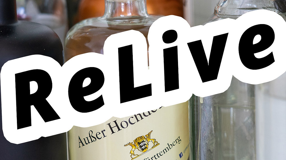 """Online Gin Tasting No. 9 """"Baden Württemberg"""" - ReLive"""