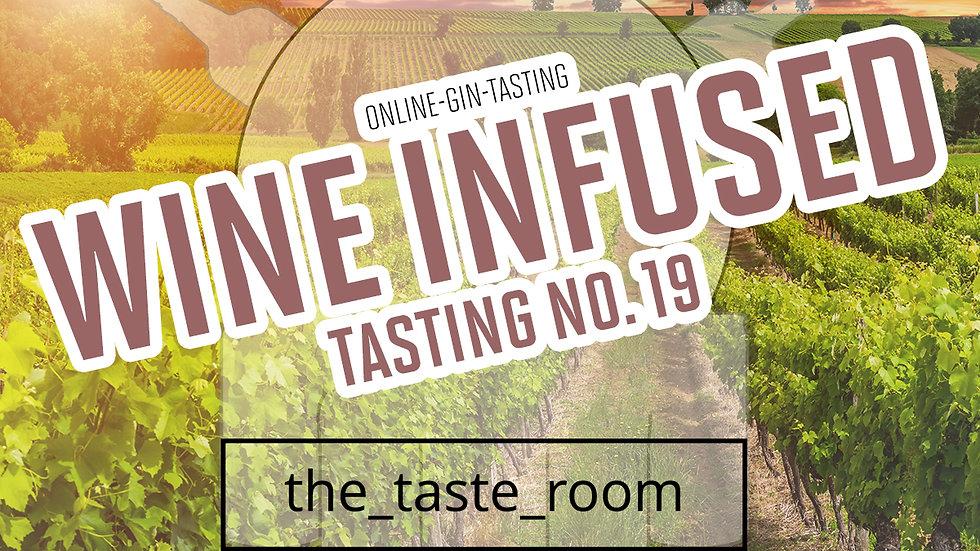 "Online Gin Tasting No. 19 ""Wine Infused""  - 25.06.21 - 20h"