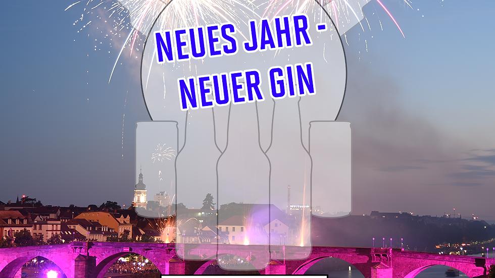 """Online Gin Tasting No. 14 """"Neues Jahr - Neuer Gin""""  - 15.01.2021 - 20:00 Uhr"""