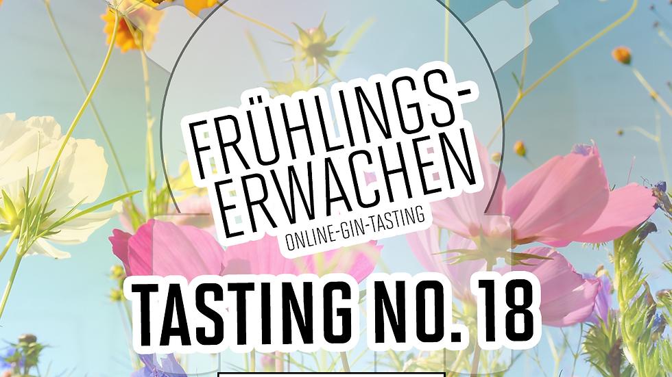 """Online Gin Tasting No. 18 """"Frühlingserwachen""""  - 21.05.21 - 20h"""