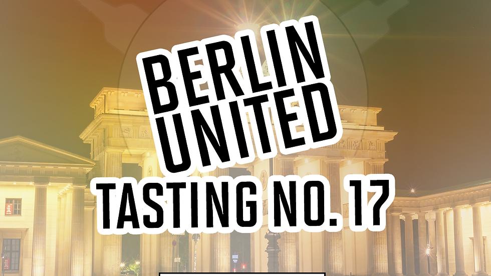 "Online Gin Tasting No. 17 ""Berlin United""  - 16.04.21 - 20h"
